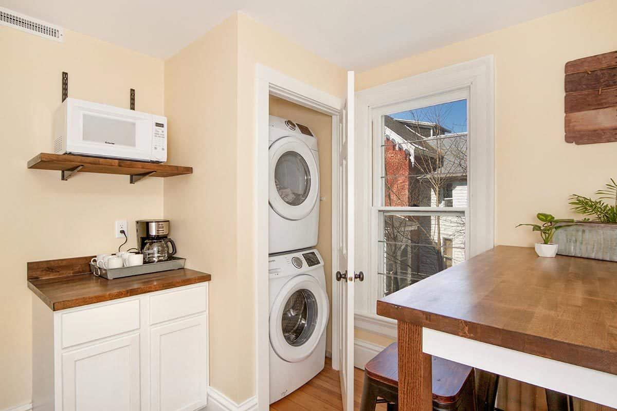 2nd Floor Kitchen & Laundry
